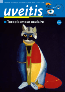 Toxoplasmose oculaire