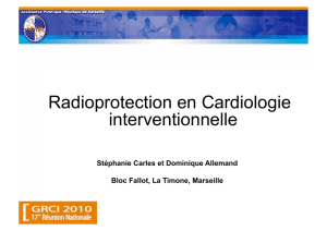 Radioprotection en Cardiologie interventionnelle
