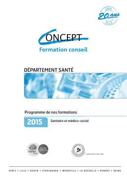Formation conseil - Concept