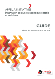 Guide Appel à Initiatives