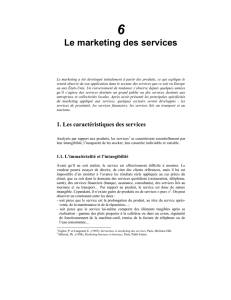 (1987), servuction, le marketing des services, paris