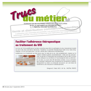 Trucs du métier - STA HealthCare Communications