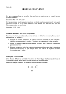 43. Les ions complexes