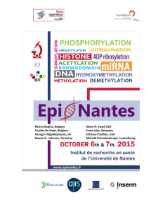 EpiNantes 2015 meeting Program
