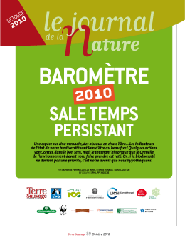 Barometre national 2010