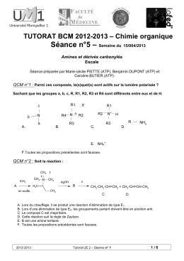 rencontres de chimie organique 2013