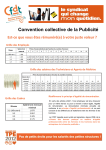 Convention collective de la Publicité