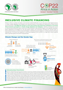inclusive climate financing
