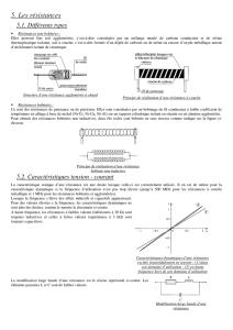 // 25x R/ésistances carbone 3.3 Ohms 1//2 Watts 5/%