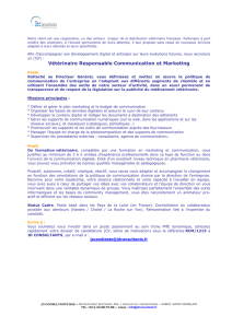 Offre Emploi ULG JDC Responsable Communication Marketing