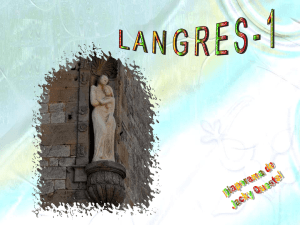 Langres (Haute Marne) - Beaconsfield Twinning Association
