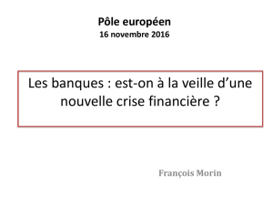 banques ppt f. morin