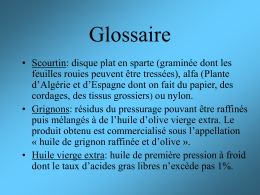 Glossaire