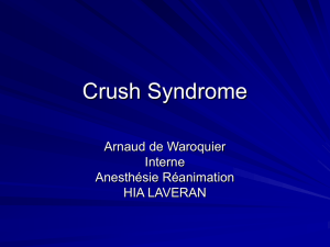 Crush Syndrôme
