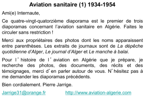 Aviation sanitaire, de 1934 à 1954