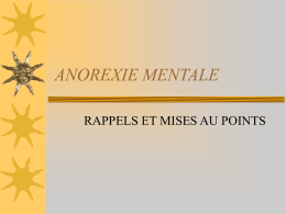 anorexie mentale - FMC Franche