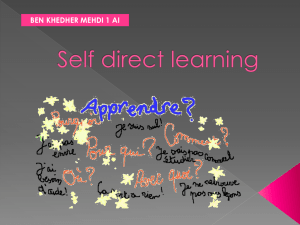 Self direct learning