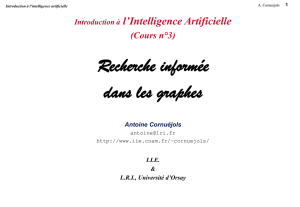 Introduction à l`Intelligence Artificielle