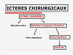 icteres chirurgicaux