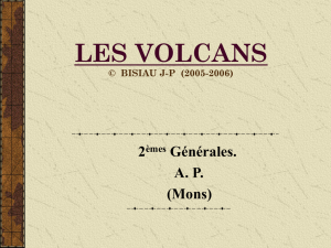 les volcans - Enseignons.be