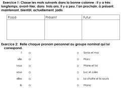pronom personnel anglais exercice