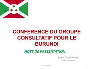 conference du groupe consultatif note de presentation