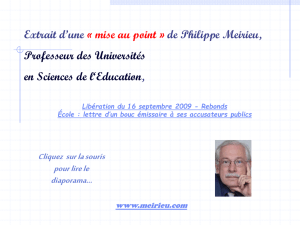 libe_pwt.pps - Philippe Meirieu