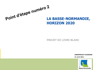 Normandie 2020+ - Thierry Jeantet