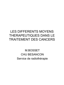 les elements du diagnostic et du bilan d`extension pretherapeutique