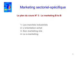 Marketing sectoriel