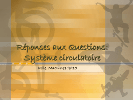 Reponses - systeme c.. - hrsbstaff.ednet.ns.ca
