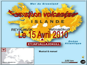 Éruption volcanique en Islande en 2010