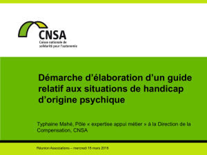 guide relatif aux situations de handicap d`origine psychique