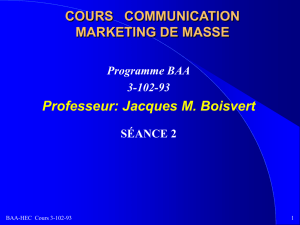 communication marketing de masse