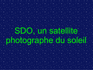 Zoom sur le satellite SDO de la NASA
