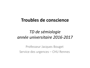 Troubles de conscience