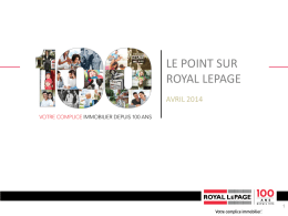 Royal LePage service commercial