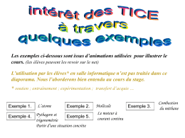exemple d`animation