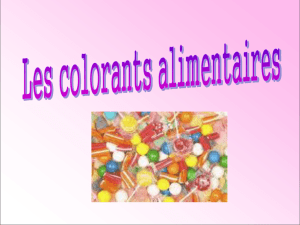 Les colorants