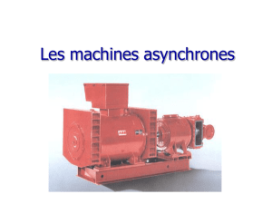 Les machines asynchrones