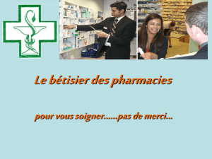 Perles des pharmacies
