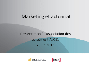 Marketing et Actuariat