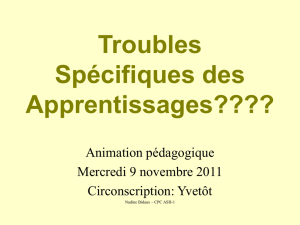 Lecture - Circonscription d`Yvetot