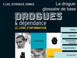 La drogue - Teachnet UK-home