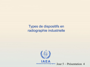 Types of Exposure Devices - International Atomic Energy Agency
