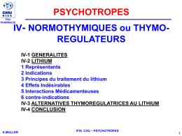 lithium effets secondaires