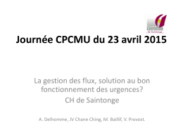 Cas clinique Saintes