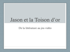 Jason et la Toison d`or