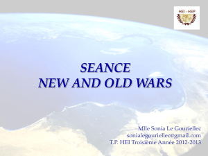 seance new and old wars