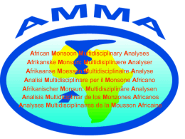 African Monsoon Multidisciplinary Analyses Afrikanske Monsun